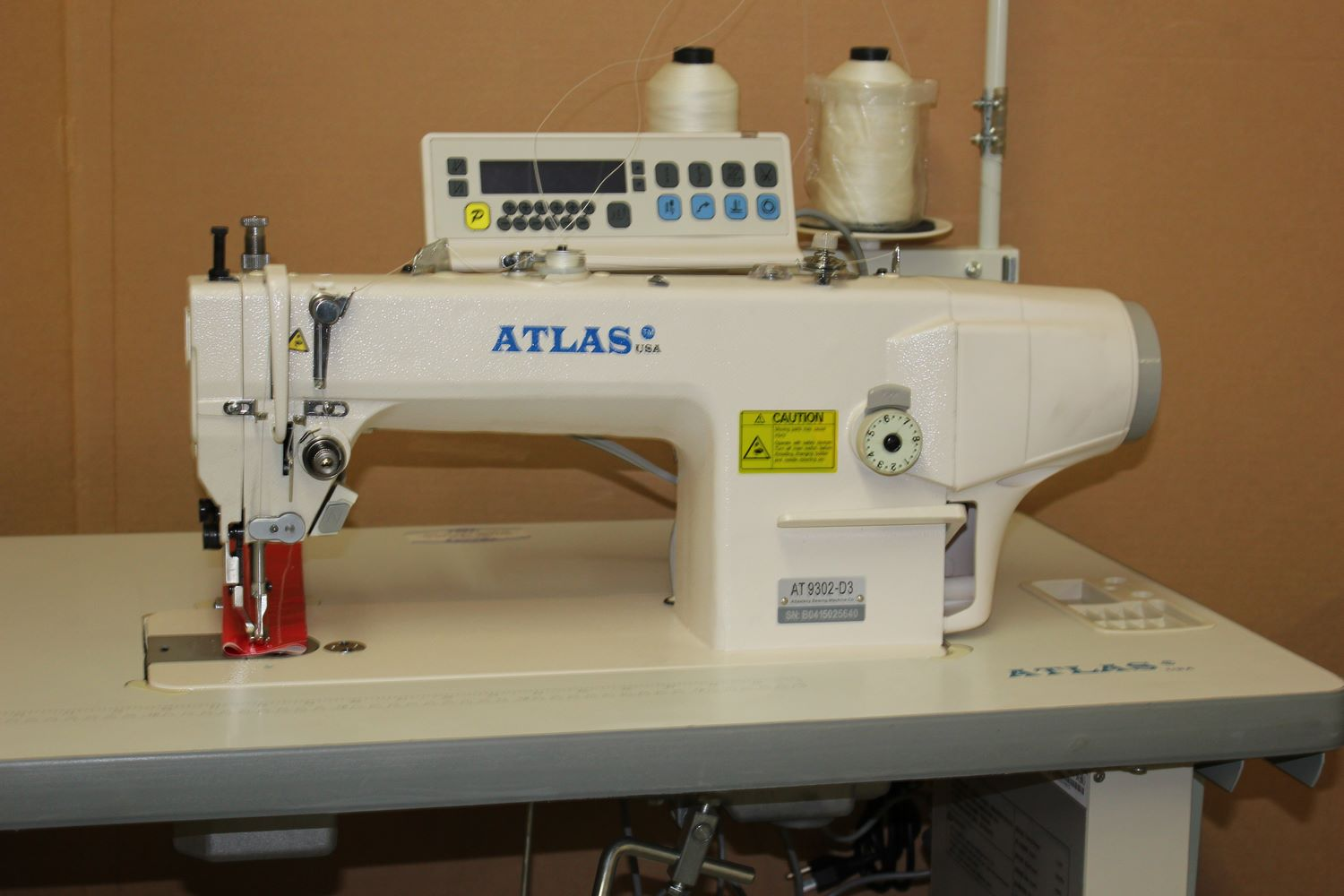Automatic Atlasusa Walking Foot Machine For Heavy Material
