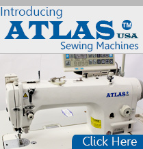 Introducing Atlas USA Sewing Machine