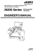 Juki-Union Special 36200 Engineer's Manual