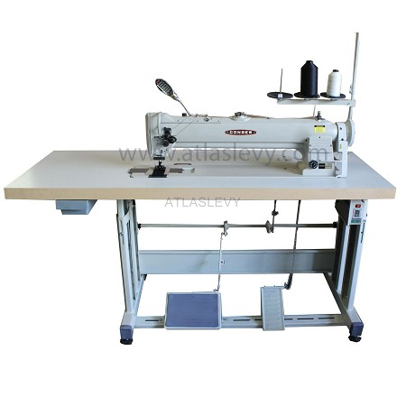 Consew 339RBL-25 Long Arm Double Needle, Walking Foot Sewing Machine